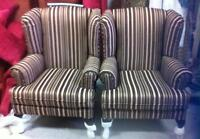 Order Wing Chairs with the fabric you want. Great Price $340