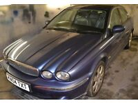 2004-Jaguar X - Type 2.5 -Petrol - in Blue - BREAKING for SPARE PARTS