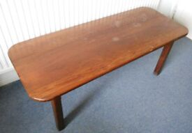 Large Solid Wood Coffee Table - Ideal To Paint