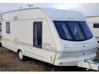 year 2000 4 berth caravan ELDDIS JETSTREAM EX 2000 in fabulous condition