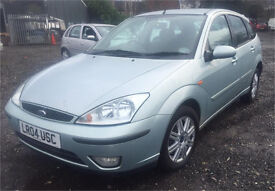 2004 FORD FOCUS GHIA TDCI 5 DOOR MANUAL - LONG MOT - FSH