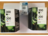 HP 300 Ink Cartridges for Printer.
