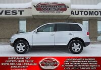 2007 Volkswagen Touareg Silver V6 4X4, Power Heated Leather, Sun