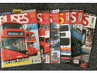 Buses Magazine X6 - Various 2011-2012 (Key Publishing Ltd)