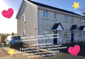 Modern 2 Bed House Clifton. Preston. Blackpool. PR4 0YF.