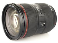 CANON 24-70mm 2.8 IS L series lens (mark II)