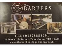 PROFESSIONAL BARBER WANTED