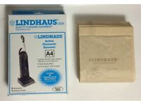 Genuine Lindhaus A4 Activa Diamante Dynamic Vacuum Cleaner Bag 8 Bags