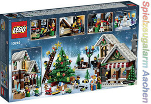 LEGO 10249 Creator Weihnachtlicher Spielzeugladen EXCLUSIV Winter Toy Shop