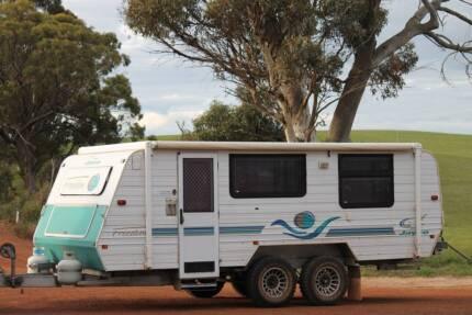 Jayco  pop top caravan off road