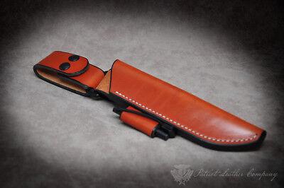 - Benchmade Knives 'The Jefferson' Custom Leather Bushcraft Sheath