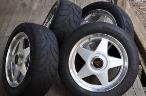 Porsche 911 wheels with race tyres Kenmore Brisbane North West Preview