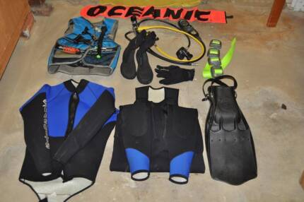 Diving Equipment - Regulator, Computer, BCD, Wetsuit, Fins, etc.