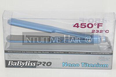"Babyliss Pro Nano Titanium Flat Iron 1.5"" (BNT3073C)"