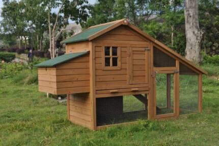 Chicken chook hen house pen Coop/Coops Rabbit hutch (WP-002S)