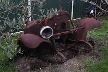 OLD JALOPY VINTAGE CAR GARDEN ORNAMENT Horsley Park Fairfield Area Preview