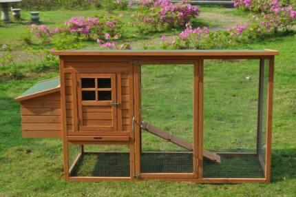 Chicken chook hen house pen Coop Coops Rabbit hutch(WP006)
