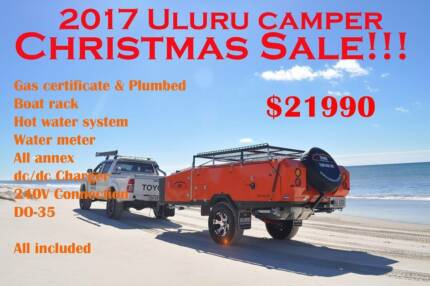 2017 Uluru Christmas sale : Premium rear ford camper trailer!!!