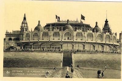 CPA n&b Ostende - le Kursaal de face