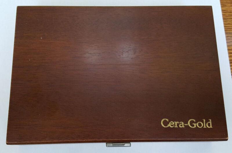 A Case of Dental Vita Cera-Gold W/ Shade Guide
