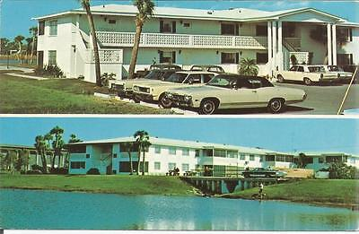 For sale ag(D) St. Petersburg, FL: Lakeside Plaza Apartments showing Vintage Cars
