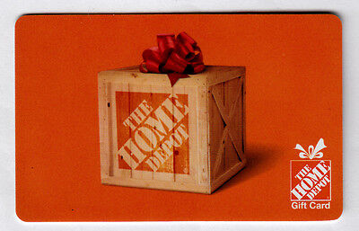 Home Depot Gift Card 40.00 No Reserve **** Free Shipping**