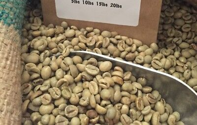 14# INDONESIA UNROASTED GREEN COFFEE BEANS.  Spontaneous PROCESS- ROBUSTA. SHIP FREE