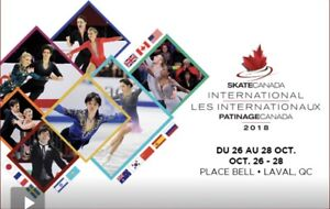 Loge Place Bell Skate Canada