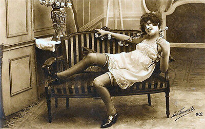A4 Vintage 1920's Art Deco Pretty Nude Girls ..Victorian/Edwardian Beauties 235