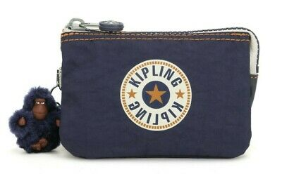 Kipling CREATIVITY S Small Purse - Active Blue Bl