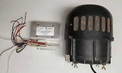 Whelen Howler Siren Speaker 200 Watt Siren Amplifier Harness Tested Free Sh