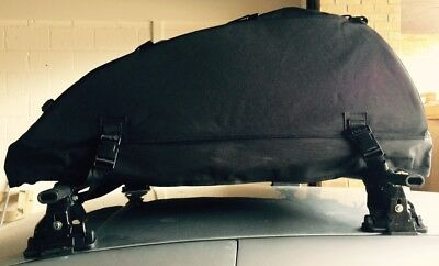 Folding 320L Roof top Cargo Bag