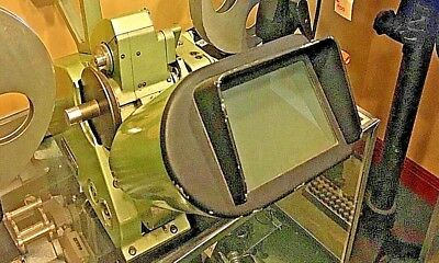 Vintage Moviola Series 20 16mm Film Viewer with reel arms Historical Hollywood