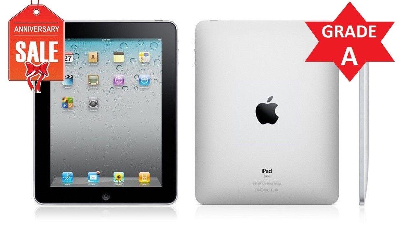 Apple iPad 1st Generation 16GB, Wi-Fi, 9.7in - Black - GRADE A Condition (R)