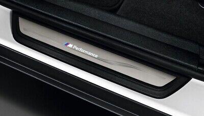 BMW X3 F25 Edelstahl Einstiegsleisten Abkantung Chrom Matt Schutz