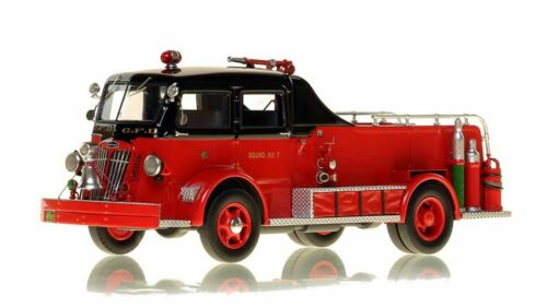Chicago Fire Department 1952 Autocar Squad 7 1/50 Fire Replicas FR057-7 Last One