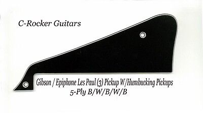 Les Paul LP Studio 5-Ply Blk Pickguard /'56 RI for Epiphone Project W//Bracket NEW