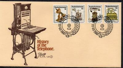 Bophuthatswana 1982 History of the Telephone FDC