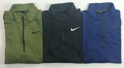 Men's Big & Tall Nike Dry Dri-Fit Standard Fit Quarter Zip Pullover Jacket