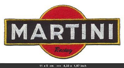 MARTINI RACING Aufnäher Patches Vintage Motorsport Rennsport MTR-04 BLITZVERSAND