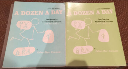 A Dozen a Day: book 1 and 2 - piano Woollahra Eastern Suburbs Preview