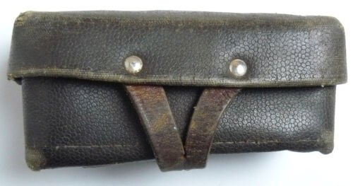 Ammo Pouch Original Leather Soviet Russian Military Genuine SKS 45 Carbine USSR