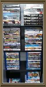 100+ Assorted Blu-Ray3D/DVD Movies/TV Series