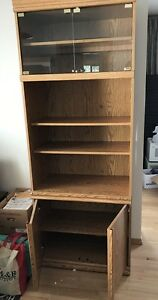 Shelving Unit With Display Light