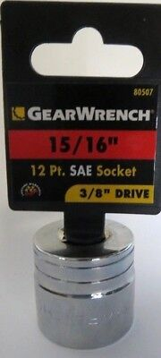 12 Point Sae Socket - GearWrench 80507 15/16