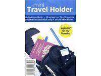 Mini Travel Holder Bag - Essential For Any Traveller - JOB LOTS OF 100 UNITS - £75 Per Unit