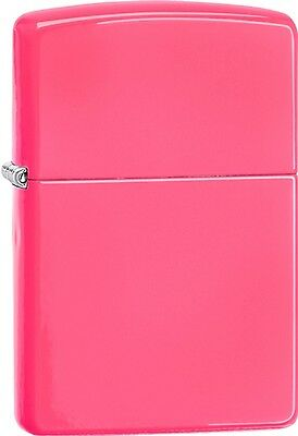 Zippo 2015 Catalog Brilliant Splash Classic Pink Windproof Lighter 28886 *NEW*
