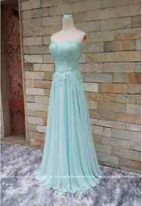Tiffany blue full evening dress for ladies Kitchener / Waterloo Kitchener Area image 5