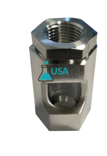 Inline Sight Glass Stainless Steel 304 - Various Sizes