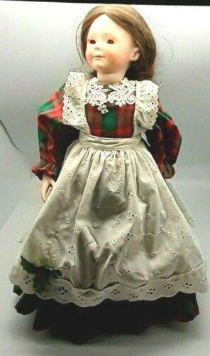 """Vintage Christmas Porcelain Doll-18"""""""